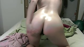 Coconut Oil Ass Massage