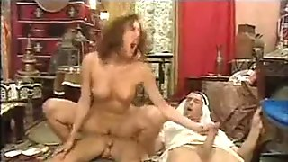 Two french dudes and a slut