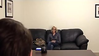 Bella Backroom Casting Couch Anal