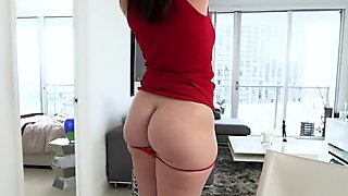 tight analhole fucking on the table