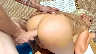 (bridgette b) Sexy Girl With Big Oiled Ass Take It Deep In Her Behind mov-08