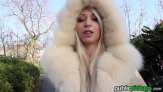 Mofos - Chloe Lacourt - Smokin French blondie shows mounds