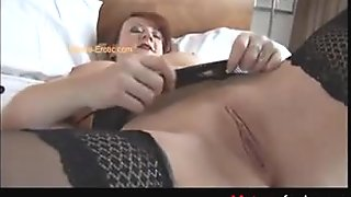 Find her on MATURE-FUCKS.COM - Homemade anal  Carefully Oiling  finge