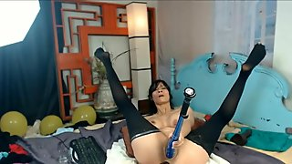 Enormous Toys Hardcore Drill Fetish and Squirting