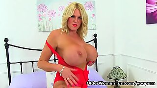 Mature Mom Will Spoil You With Her Huge Tits