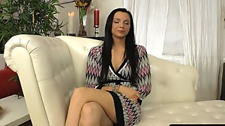 Brunette Anita Gets Screwed in the Ass during Her Casting Audition