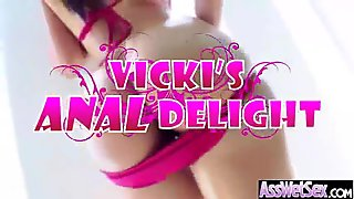 (vicki chase) Curvy Big Butt Girl Love And Enjoy Deep Anal Sex movie-30
