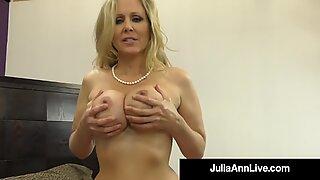 Hot Big Tissikäs Puuuma Julia Ann ottaa lämpimän kuorman Mälli hänen makea suu