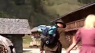 MILF anal in the mountains