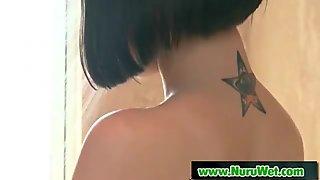 Nuru Massage Sex And Slippery Handjob Video 01