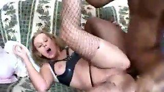 busty babe takes anal spermpie