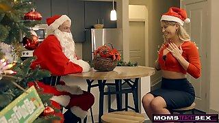 Momsteachsex - joulupukin ilkikuriset avustajat jouluna kolmessa suunnassa