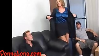 Donny Long gives huge cock anal and a DP to m