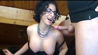 Jay and Bianca kinky rough sex on cam