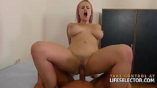 Angel Wicky - Lesbian Fucked by Big Dick