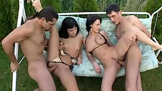 Private.com - Michelle Wild DP Orgy With Cindy Cox
