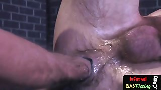 Pumped Penis Anal and Fist Fucked Ass