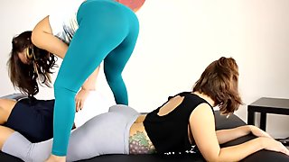 Face Sitting Session with Big Ass Milf Vanessa Luna