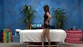 Hand job massage
