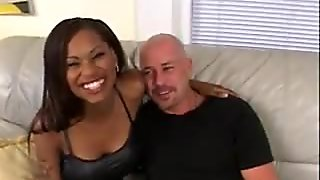 Caramel Gives a White Guy Great Sex