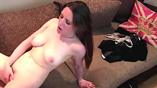 Casted euro babe loves getting ass drilled