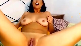 Amazing Webcam Show Look How wet She Is - Watch Part 2 At FilthyGeek.com