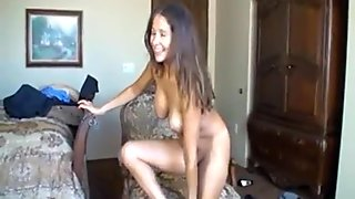 Brunette SEXY MILF Extremely MASTURBATION  - hotcamgirls999.com