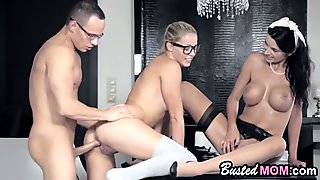 Gorgeous Babes Ania Kinski And Christen Courtney Fuck In Passionate Threesome